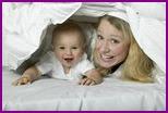 Безопасные игры: чем занять ребенка 6 месяцев от роду