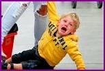 Истерика у ребенка: как успокоить?