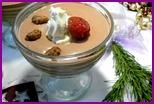 Десерт со сливками и киви