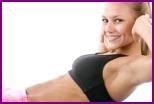 Упражнения для похудения живота, ягодиц, бедер и ног