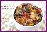 Баклажаны на зиму: рецепт нежной закуски с болгарским перцем