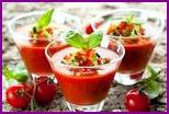 Томатные супы: два рецепта первых блюд