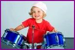 Детям необходимы ударные инструменты