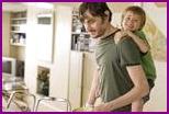 Можно ли доверить мужчине ребенка, пока мама на работе?