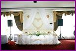 Как украсить банкетный зал на свадьбу?