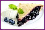 Черничный пирог: рецепт с песочным тестом