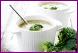 Суп с куриным филе и сыром
