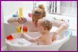 Игры в ванной для детей разных возрастов