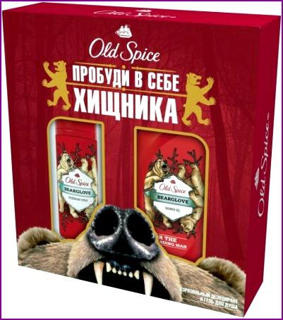 Набор Old Spice Bearglove – подарок для настоящих хищников