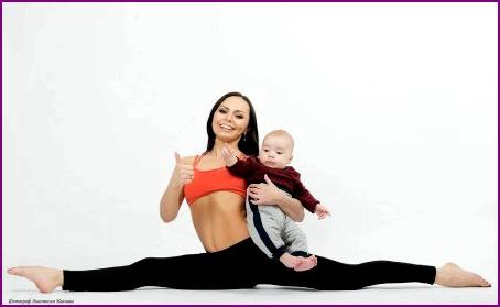 Мама троих детей – профессионал pole dance
